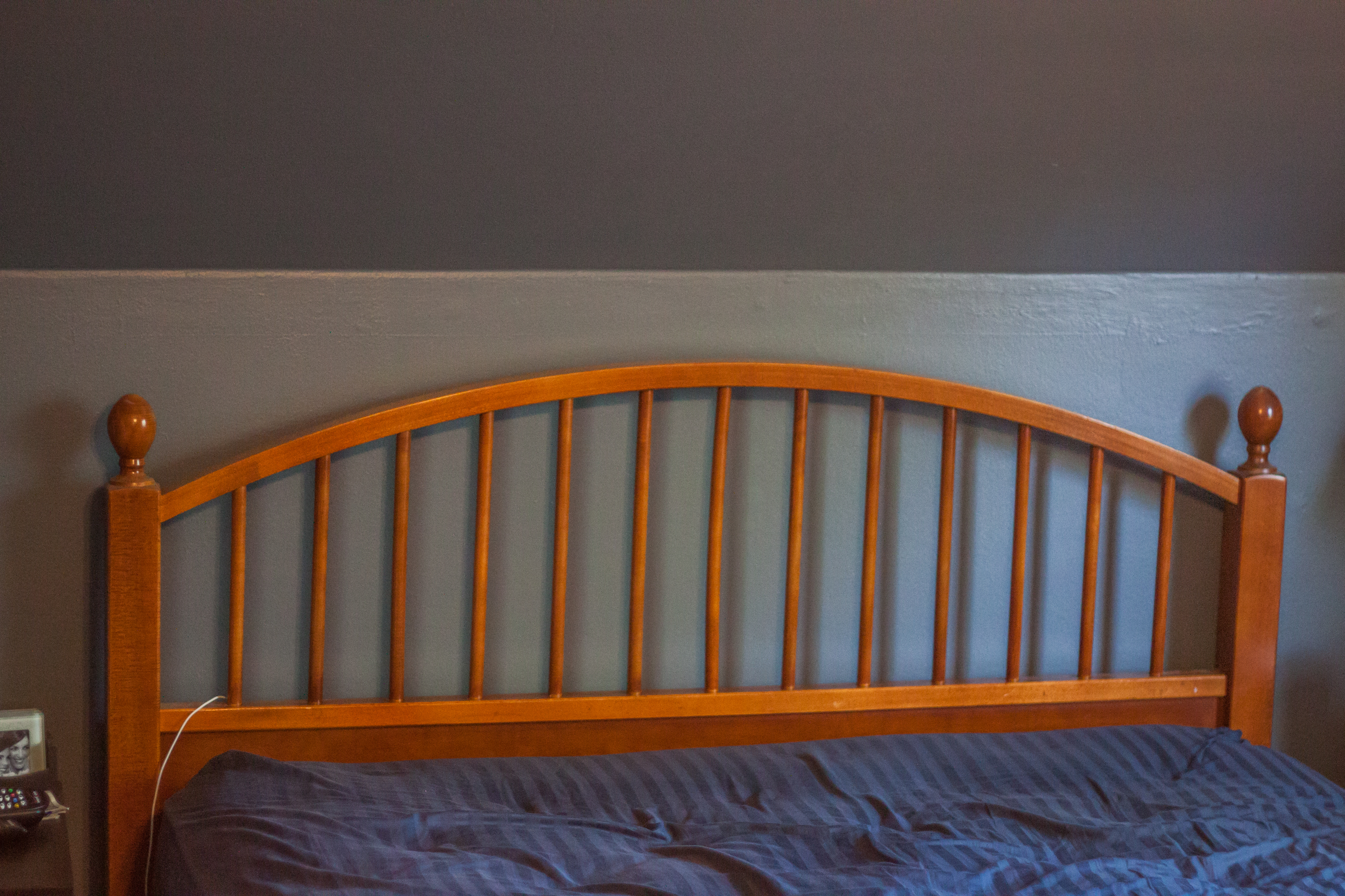 DIY Old to New Headboard Love Pasta and a Tool Belt